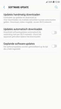 Samsung Galaxy S6 edge+ - Android Nougat - Software updaten - Update installeren - Stap 5