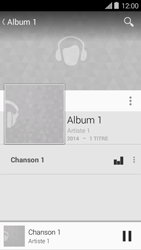 Bouygues Telecom Ultym 5 II - Photos, vidéos, musique - Ecouter de la musique - Étape 10