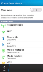 BlackBerry Z10 - Internet - Configuration manuelle - Étape 5