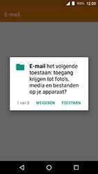 Crosscall Action X3 - E-mail - e-mail instellen: IMAP (aanbevolen) - Stap 4