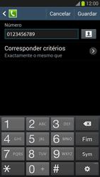 Samsung Galaxy S3 - Chamadas - Como bloquear chamadas de um número -  12