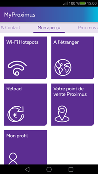 Huawei Mate S - Applications - MyProximus - Étape 20