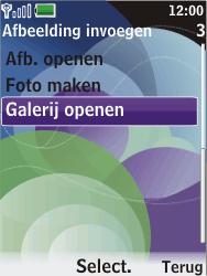 Nokia 7610 supernova - E-mail - hoe te versturen - Stap 12