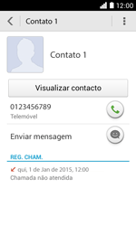 NOS LUNO - Chamadas - Como bloquear chamadas de um número -  4