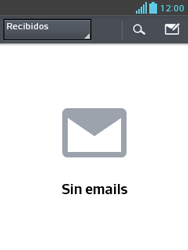 LG Optimus L3 II - E-mail - Configurar correo electrónico - Paso 20