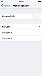 Apple iPhone 5s - iOS 12 - Netwerk - Handmatig een netwerk selecteren - Stap 7