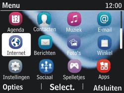 Nokia Asha 201 - Internet - internetten - Stap 2