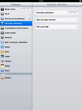 Apple iPad 2 - Internet - activer ou désactiver - Étape 3