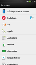 HTC One - Applications - Supprimer une application - Étape 4