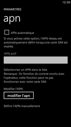 Samsung I8750 Ativ S - Internet - configuration manuelle - Étape 7