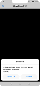 Huawei Mate 20 lite - Photos, vidéos, musique - Envoyer une photo via Bluetooth - Étape 10