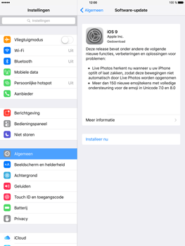 Apple iPad Mini 4 - Software updaten - Update installeren - Stap 4