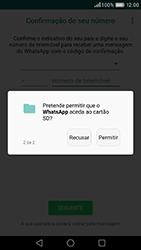 Huawei P9 - Aplicações - Como configurar o WhatsApp -  11