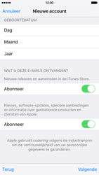 Apple iPhone 6s - Applicaties - Account aanmaken - Stap 17