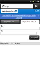 Sony LT22i Xperia P - Internet - Navigation sur internet - Étape 10