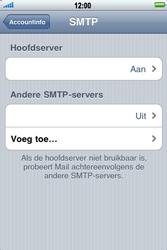 Apple iPhone 3G S - E-mail - Handmatig instellen - Stap 14