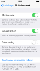 Apple iPhone 5s - Internet - handmatig instellen - Stap 5
