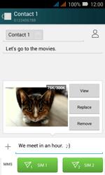 Huawei Y3 - MMS - Sending pictures - Step 16