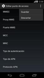 Motorola Moto X (2ª Gen) - Internet - Configurar Internet - Paso 15