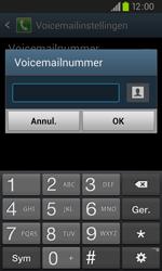 Samsung I9105P Galaxy S II Plus - Voicemail - handmatig instellen - Stap 8