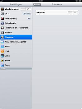 Apple iPad - Bluetooth - Aanzetten - Stap 3
