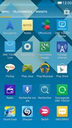 Alcatel OT-5036X Pop C5 - Wifi - configuration manuelle - Étape 2