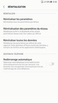 Samsung Galaxy J7 (2017) - Device maintenance - Retour aux réglages usine - Étape 7