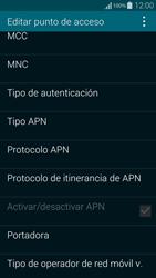 Samsung G850F Galaxy Alpha - Internet - Configurar Internet - Paso 14