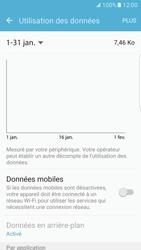 Samsung Galaxy S7 Edge - Internet et connexion - Désactiver la connexion Internet - Étape 6