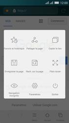 Huawei Y635 Dual SIM - Internet - Navigation sur Internet - Étape 7