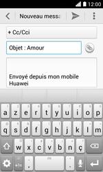 Huawei Ascend Y330 - E-mail - envoyer un e-mail - Étape 8