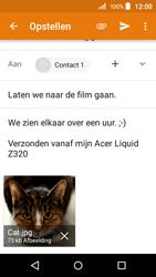 Acer Liquid Z320 - E-mail - e-mail versturen - Stap 15