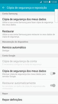 Samsung Galaxy S6 Edge + - Repor definições - Repor definições de fábrica do telemóvel -  6