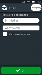 Doro 8031 - E-mail - Account instellen (IMAP met SMTP-verificatie) - Stap 8