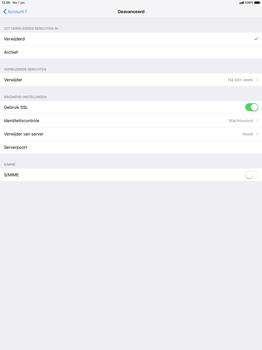 Apple ipad-pro-12-9-2nd-generation-ios-12 - E-mail - Account instellen (POP3 met SMTP-verificatie) - Stap 22