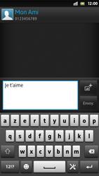 Sony Xpéria S - Contact, Appels, SMS/MMS - Envoyer un SMS - Étape 10