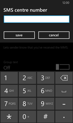 Nokia Lumia 635 - SMS - Manual configuration - Step 7