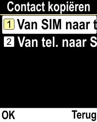 Emporia CLICKplus 3G (Model V32-3G) - Contacten en data - Contacten kopiëren van SIM naar toestel - Stap 5