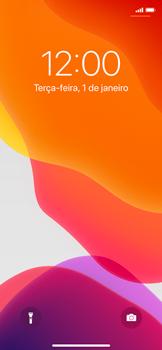 Apple iPhone X - iOS 13 - Funções básicas - Como reiniciar o aparelho - Etapa 4
