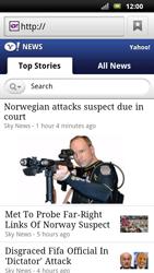 Sony Ericsson Xperia Neo - Internet - Internet browsing - Step 11