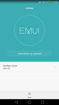 Huawei Mate S - Netwerk - Software updates installeren - Stap 6