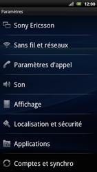 Sony Ericsson Xperia Arc S - Messagerie vocale - configuration manuelle - Étape 5