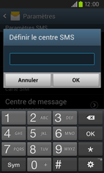 Samsung I9105P Galaxy S II Plus - SMS - configuration manuelle - Étape 7