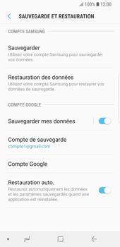 Samsung Galaxy S9 - Device maintenance - Back up - Étape 14