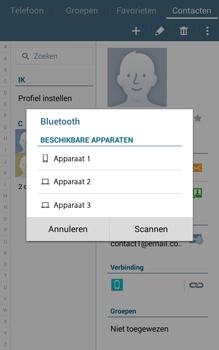 Samsung Galaxy Tab4 8.0 4G (SM-T335) - Contacten en data - Contacten overzetten via Bluetooth - Stap 11