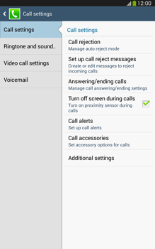 Samsung T315 Galaxy Tab 3 8-0 LTE - Voicemail - Manual configuration - Step 6