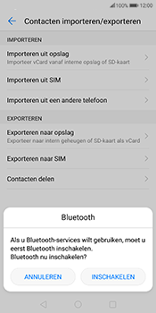 Huawei Mate 10 Pro - Contactgegevens overzetten - delen via Bluetooth - Stap 9