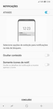 Samsung Galaxy Note 8 - Segurança - Como ativar o código de bloqueio do ecrã -  11