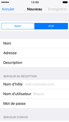 Apple iPhone 5s iOS 10 - E-mail - Configuration manuelle - Étape 11