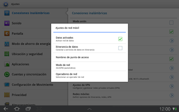 Samsung P7500 Galaxy Tab 10-1 - Internet - Ver uso de datos - Paso 5